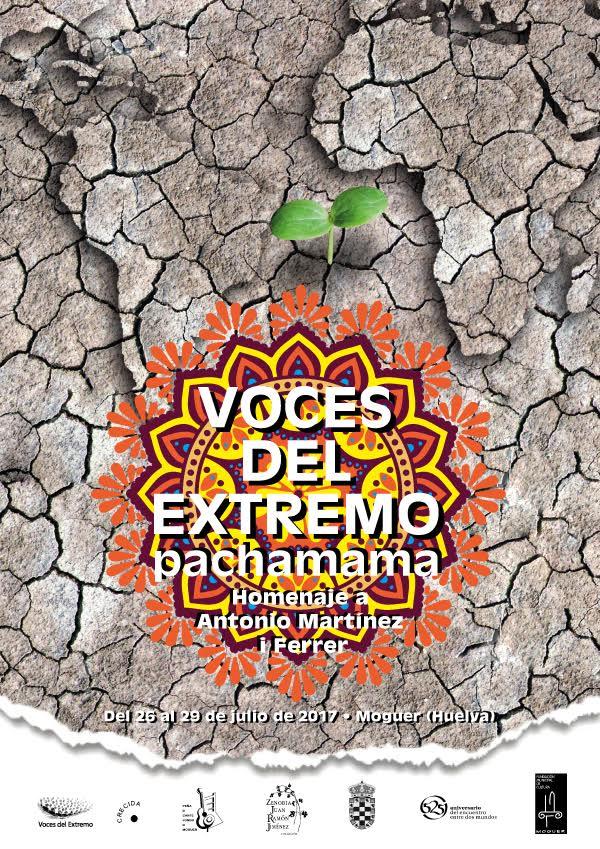 cartel Voces del Extremo 2017