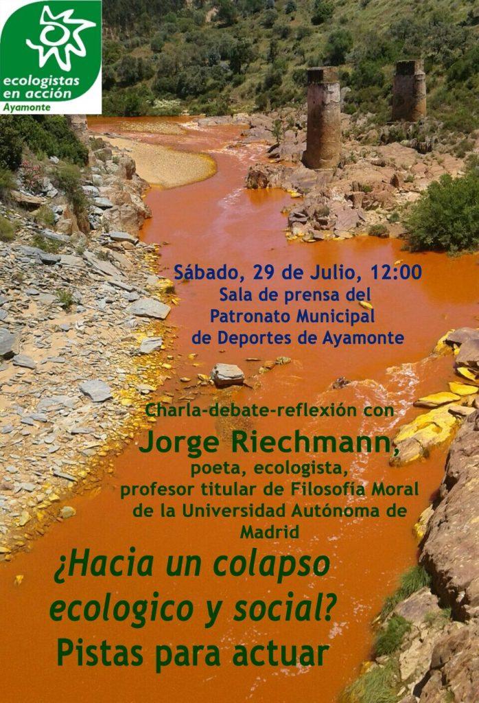charla Ayamonte 29 de julio