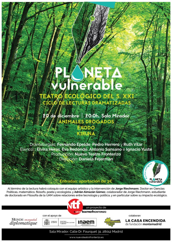 Planeta Vulnerable 20 dic. 2017