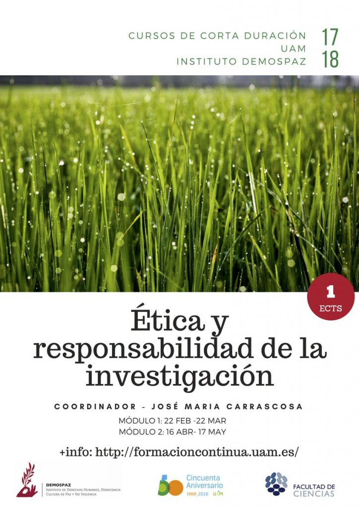 ÉTICA Y RESPONSABILIDAD DE LA INVESTIGACIÓN módulos 1 y 2