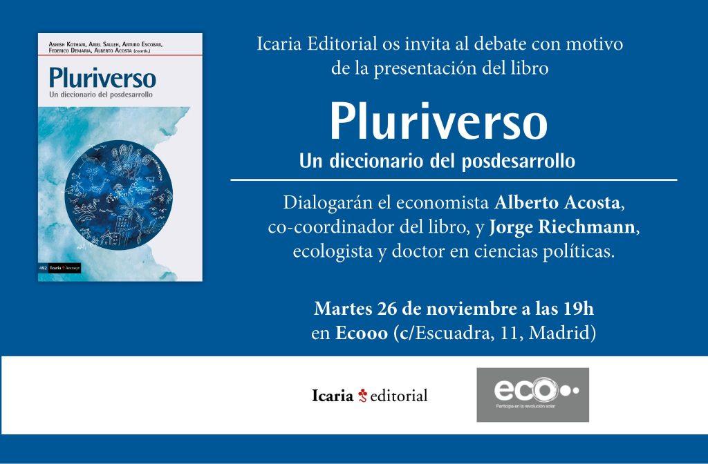 presentación PLURIVERSO 26.11.19