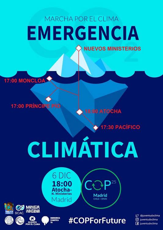 marcha climática 6.12.19