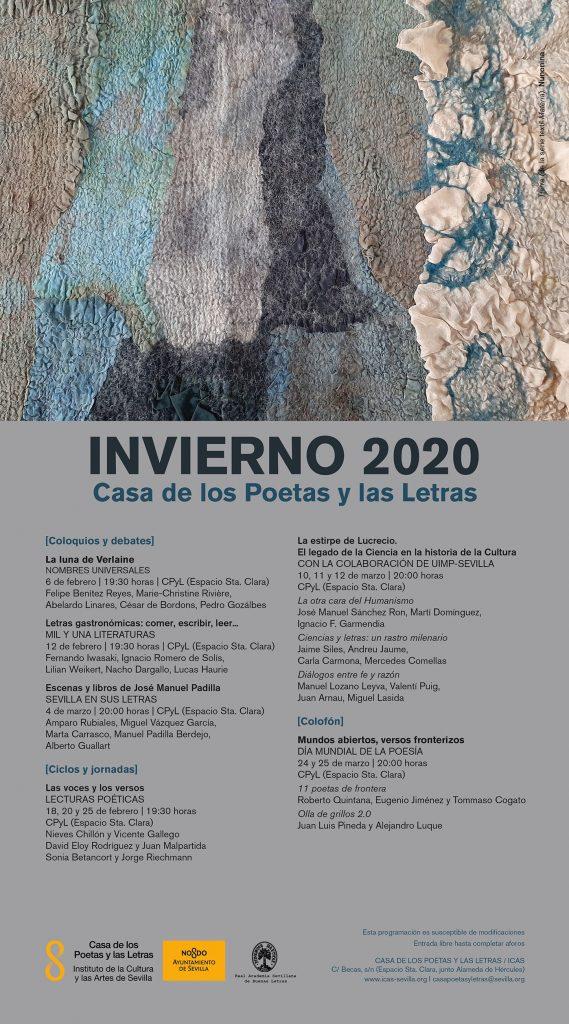Sevilla, cartel invierno 2020