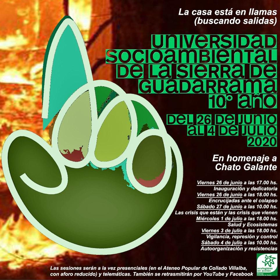 cartel Décima Univ. Socioambiental de la Sierra