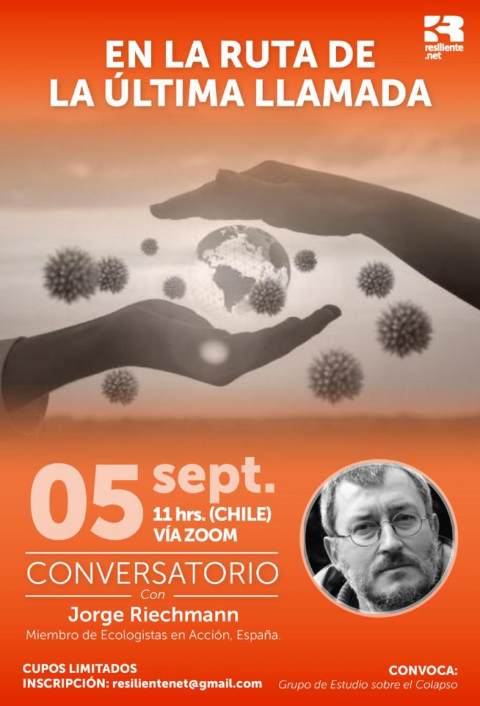 conversatorio ÚLTIMA LLAMADA, 5.9.20