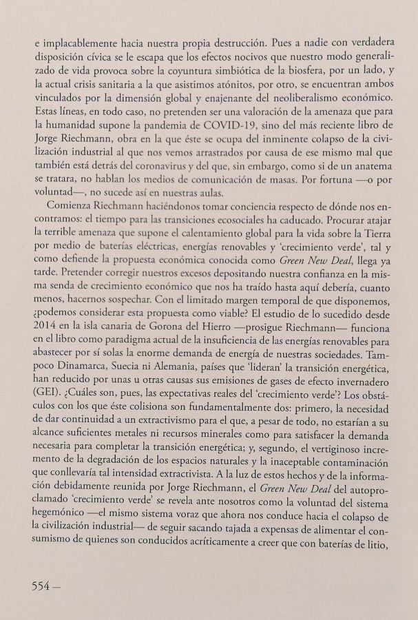 reseña de Raúl Garrobo sobre OTRO FIN DEL MUNDO..., 2
