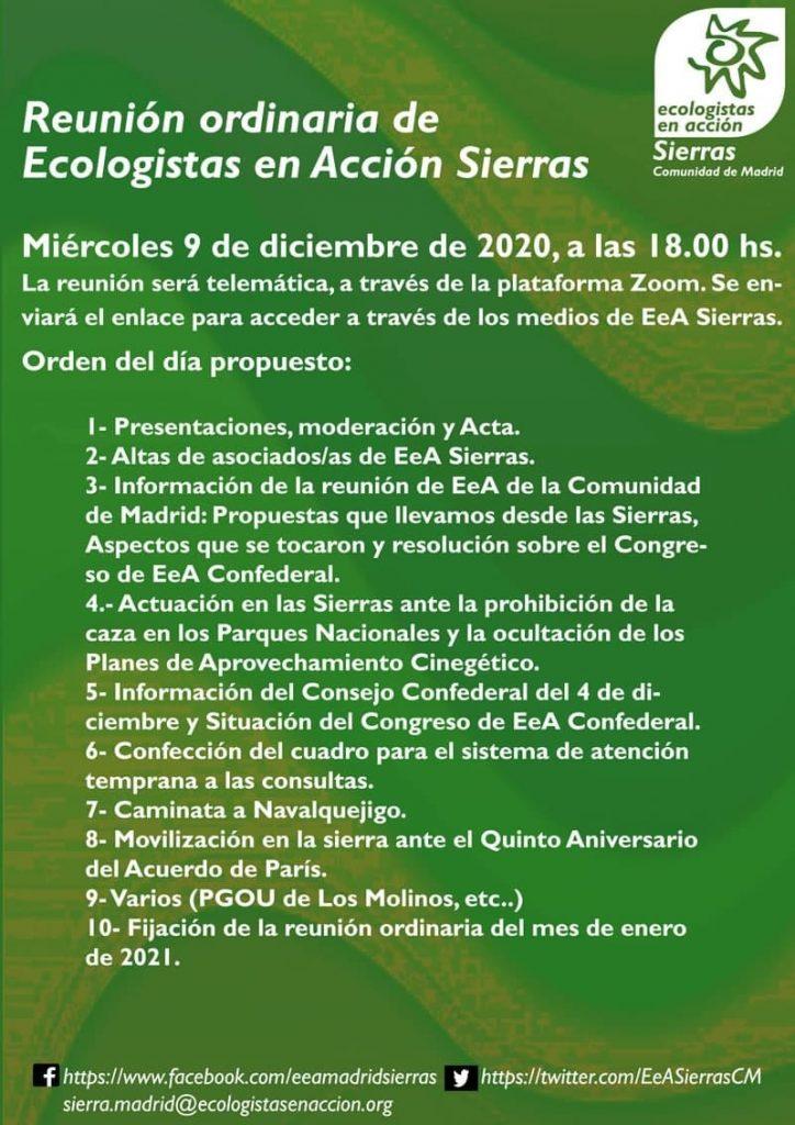 asamblea EeA Sierras 9 de diciembre 2020