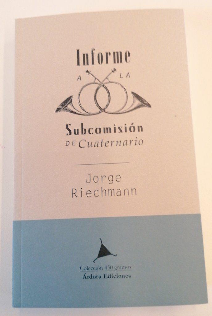 portada INFORME A LA SUBCOMISIÓN DE CUATERNARIO