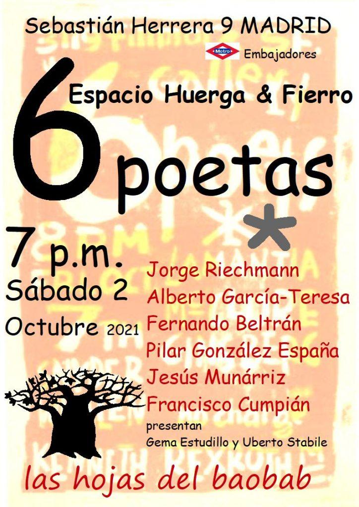 Hojas en Madrid, 2 de octubre