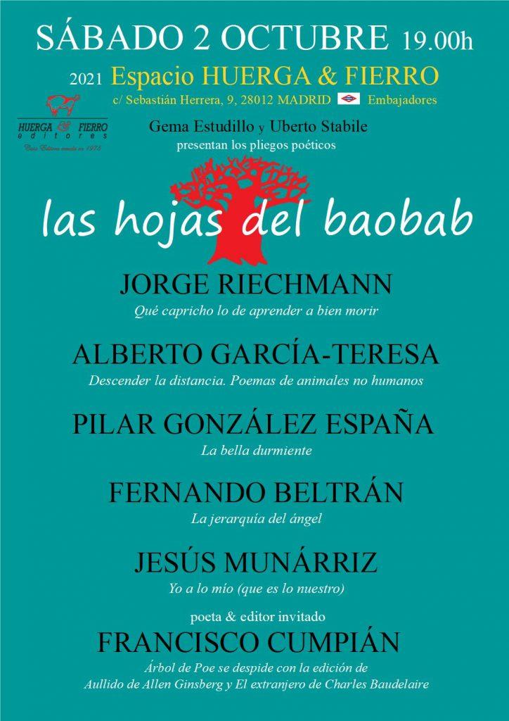 Hojas en Madrid, 2 de octubre de 2021